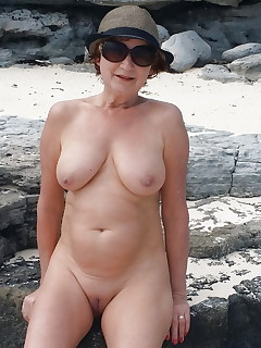 Nude granny models agree