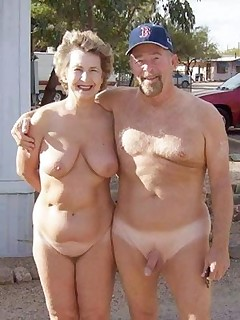 Mature age nudists