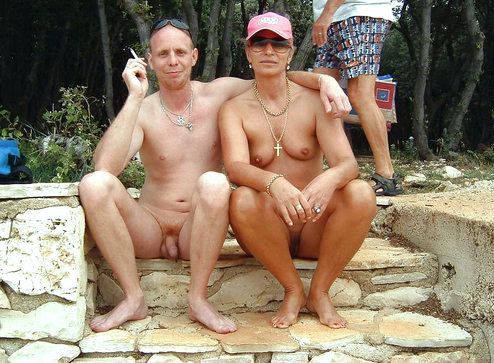 Desi family beach nude